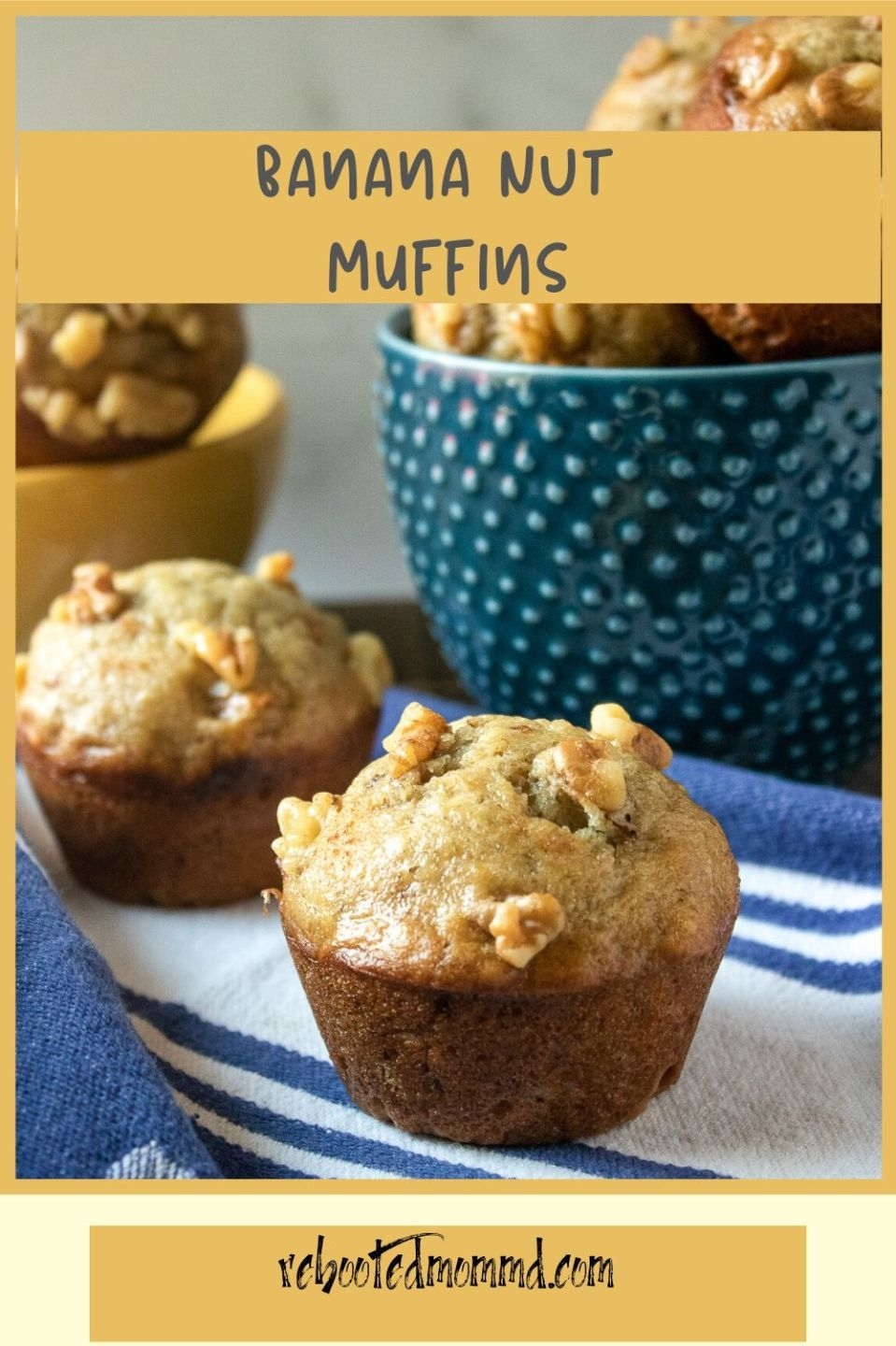 National Muffin Day: Banana Nut Muffins