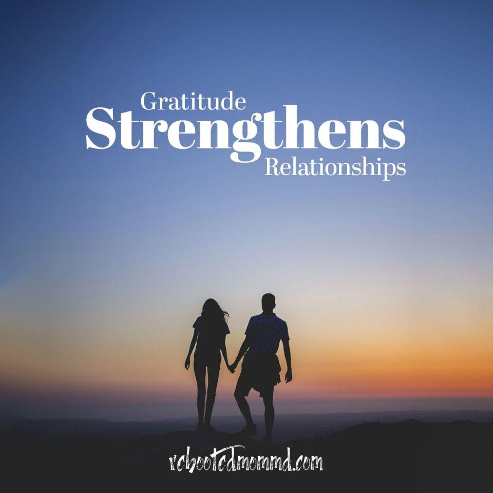 relationship gratitude