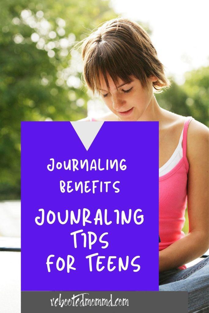teens journaling