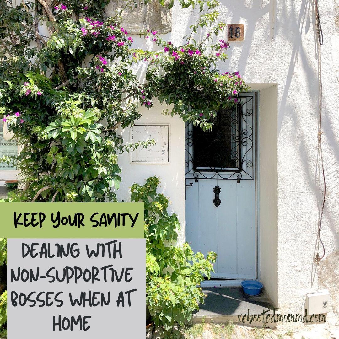 doorway dealing with bosses