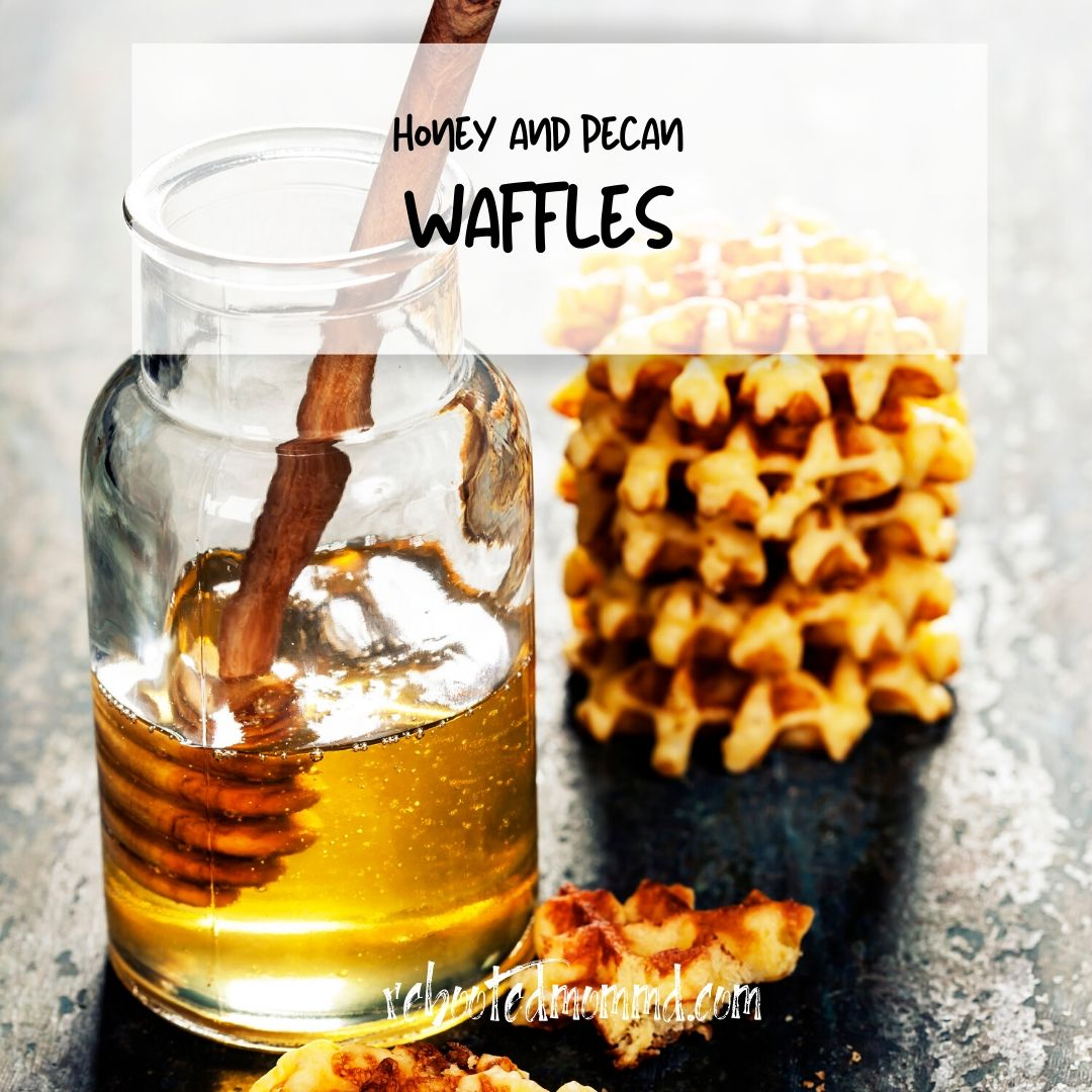 honey pecan waffle