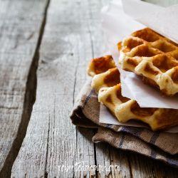 honey pecan waffles