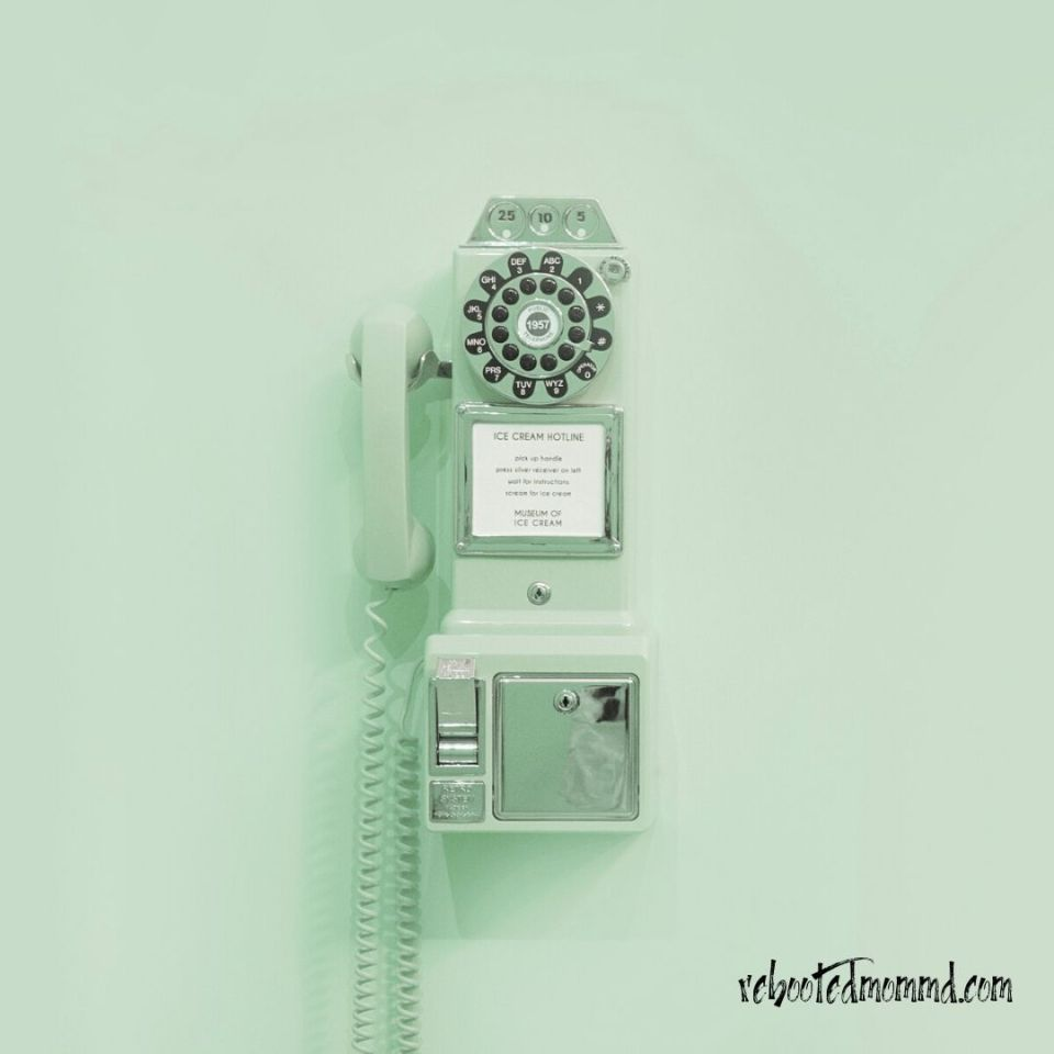 stress green phone