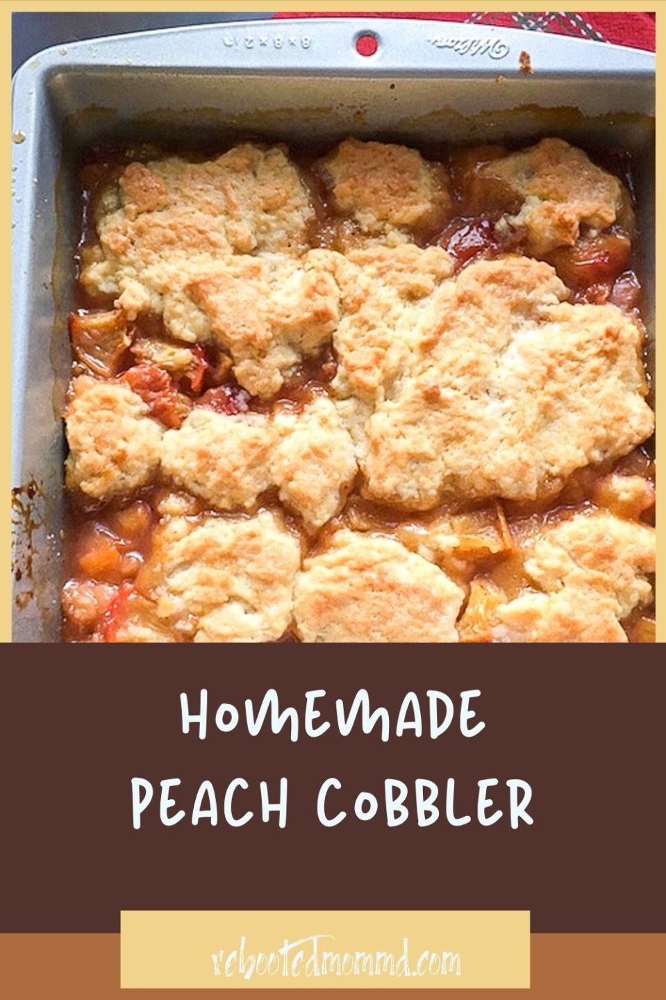 National Peach Cobbler Day