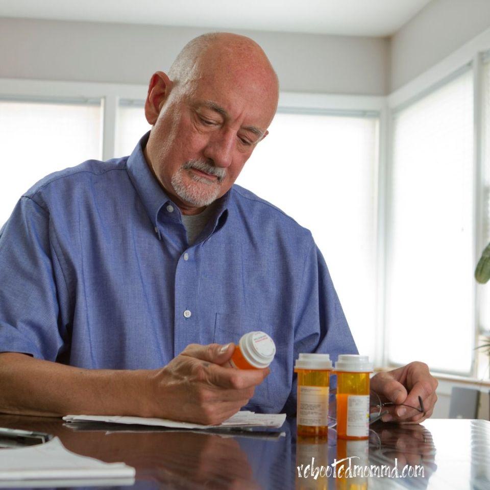 medication older person