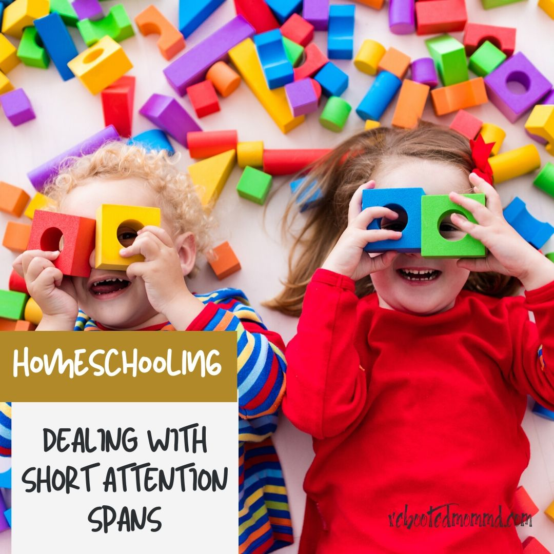 homeschooling short attention span