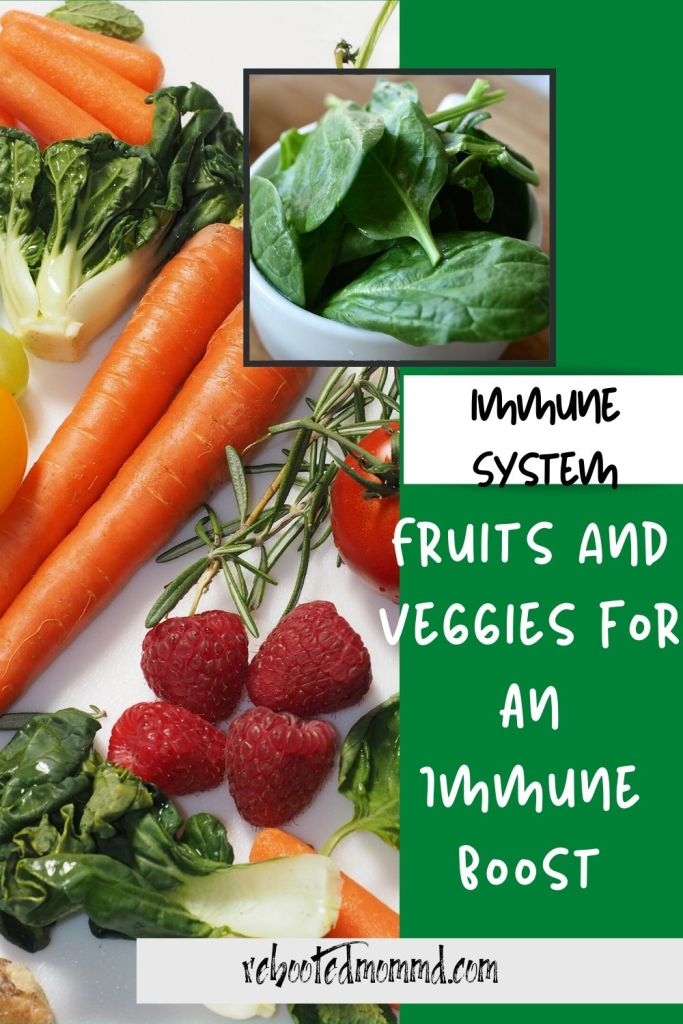 fruits and veggies immune system