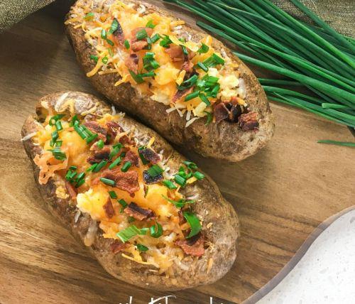 loaded stuffed potato
