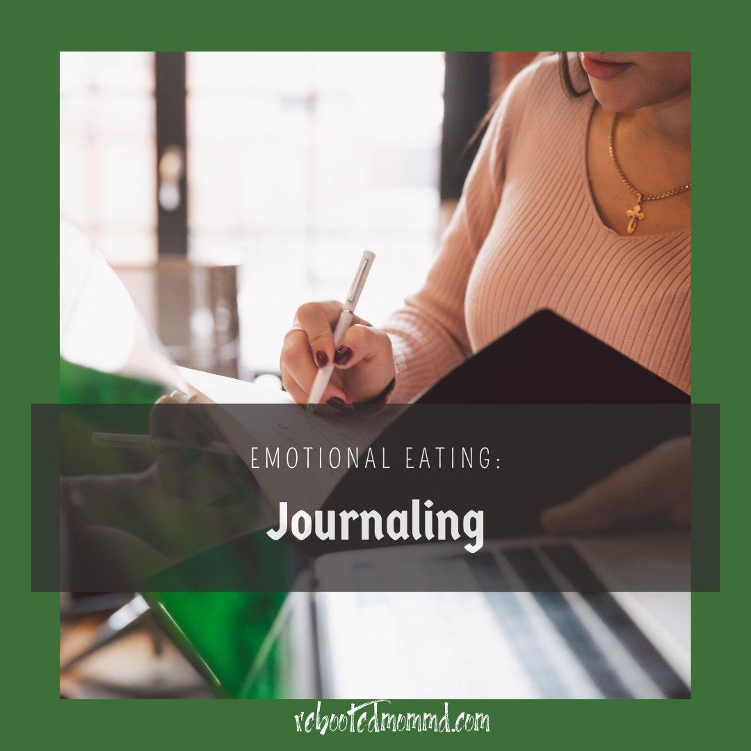 emotional eating journaling