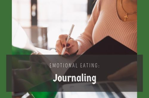 emotional eating journaling