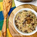 Instant Pot® Rustic Mushroom Rice