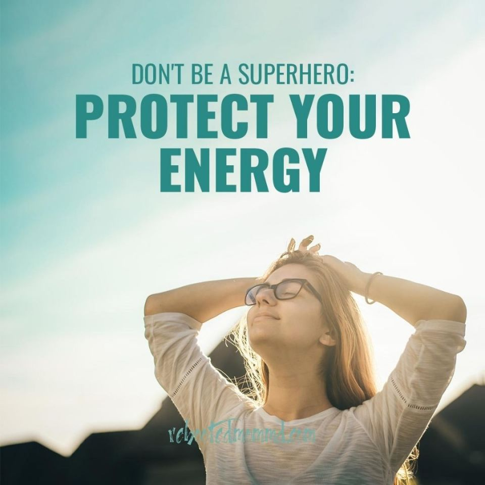 protect your energy  embrace your no