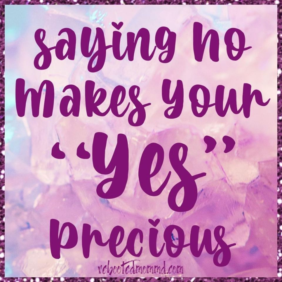 make your yes precious