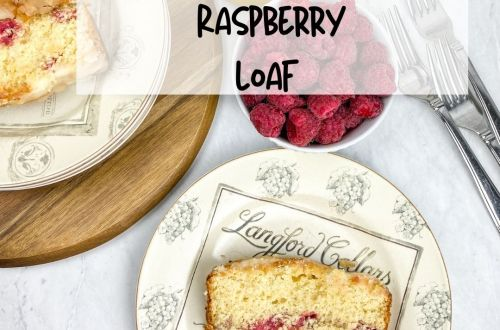 lemon raspberry loaf