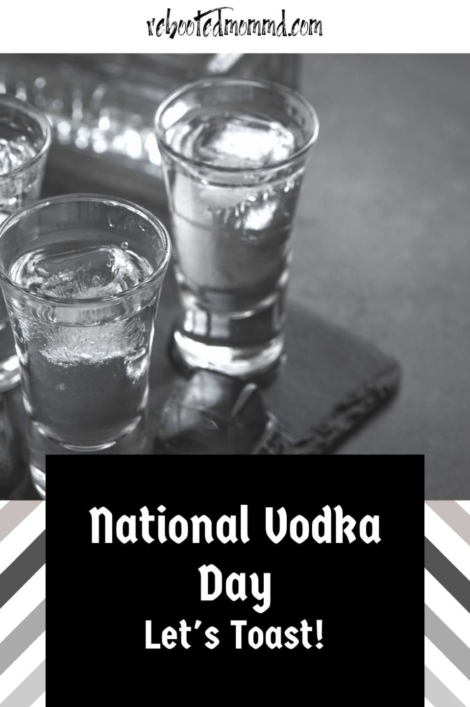A Couple of Drinks for National Vodka Day