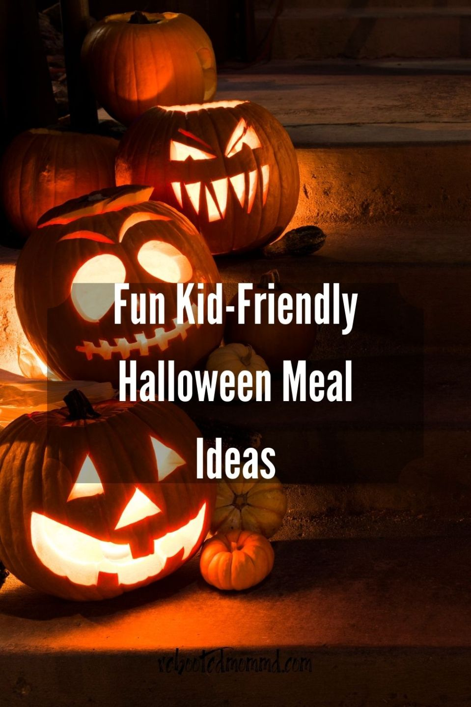 Fun Kid-Friendly Halloween Meal Ideas