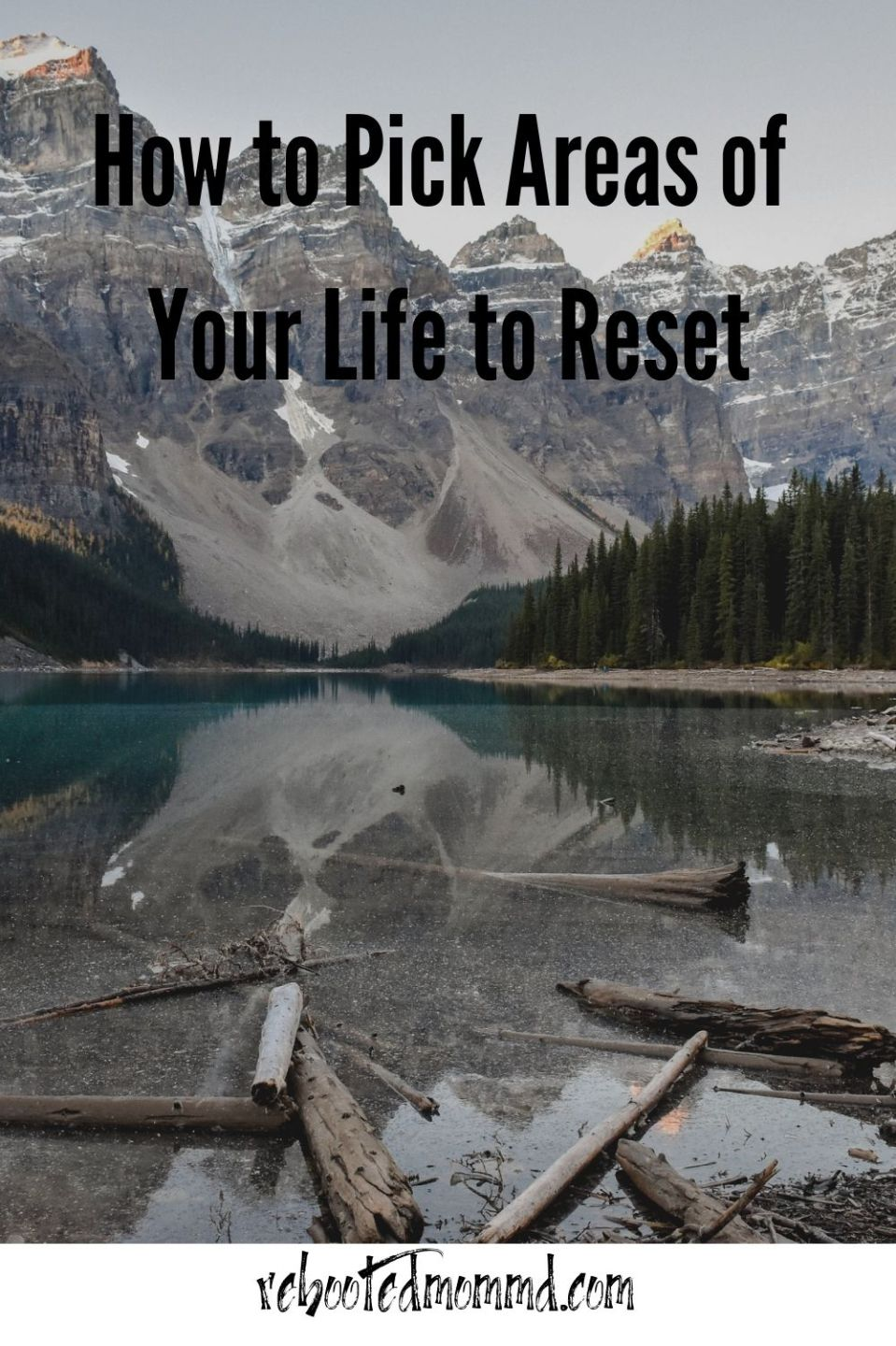 Analysis: How to Pick Areas of Your Life to Reset