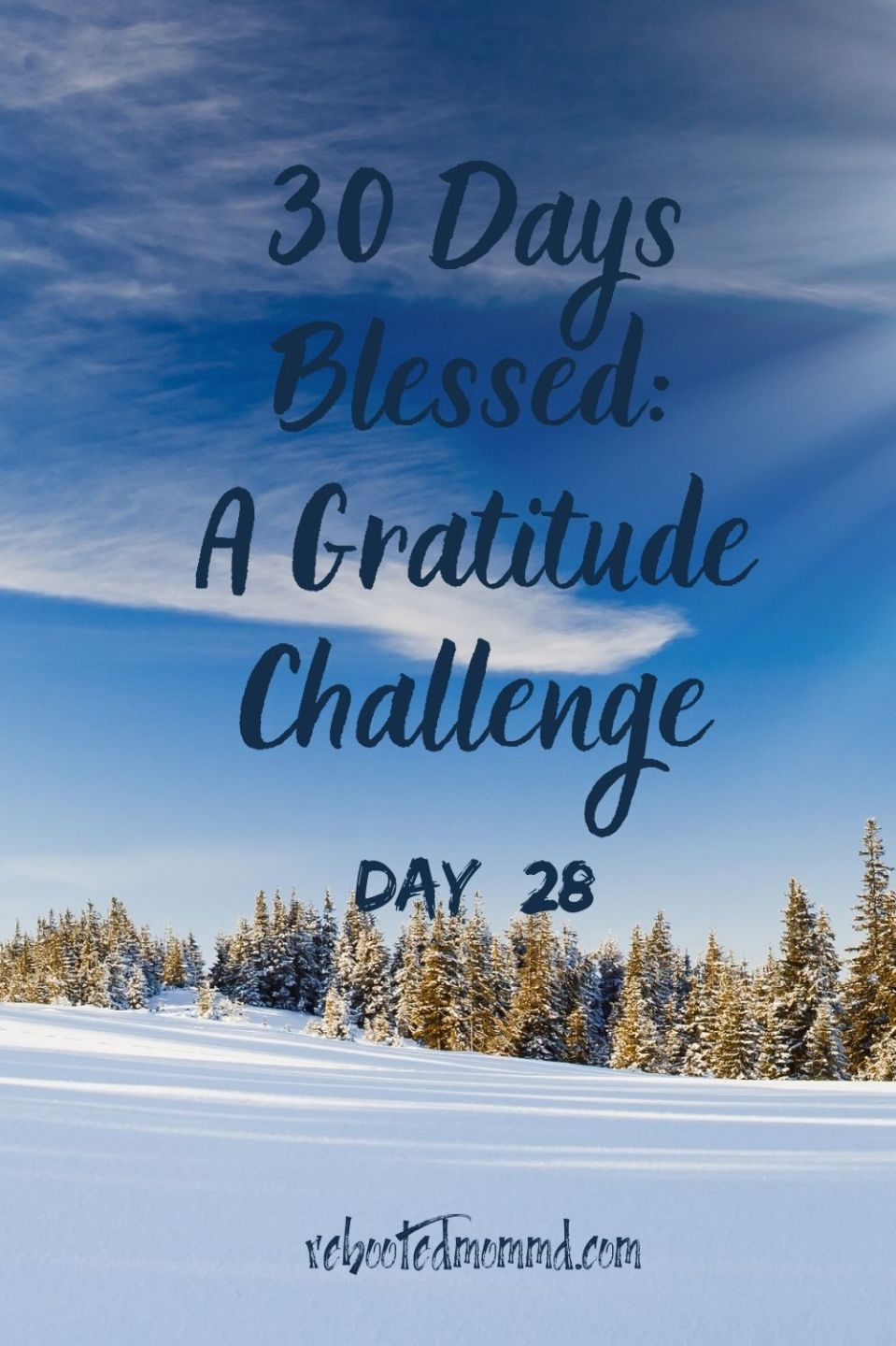 Day 28: In Awe of Our Precious Planet
