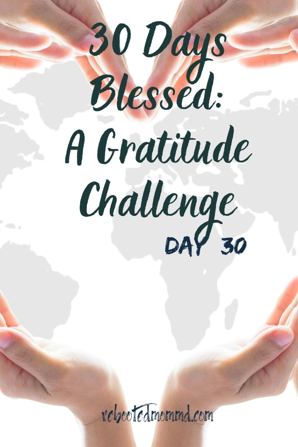 Day 30. Be Grateful for Friends
