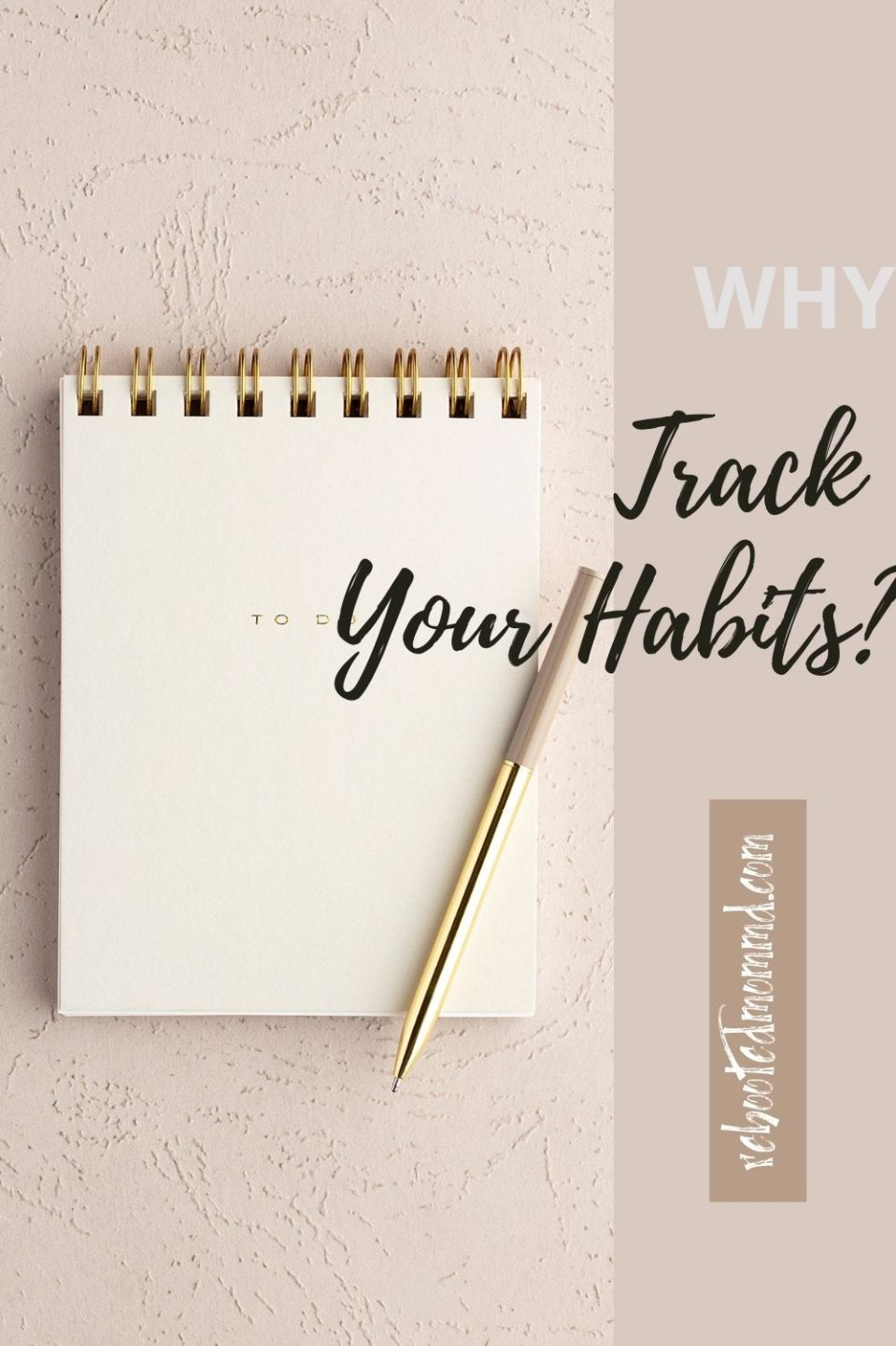 Why You Need to Write Down and Track Habits