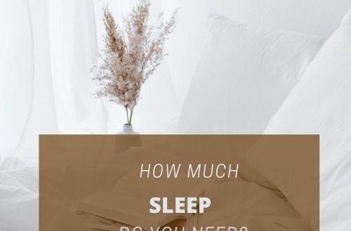 how much sleep
