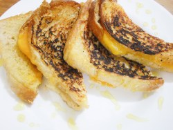 honey grilled cheese sandwich