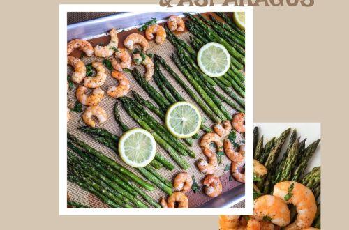 Lemon-Garlic Shrimp & Asparagus