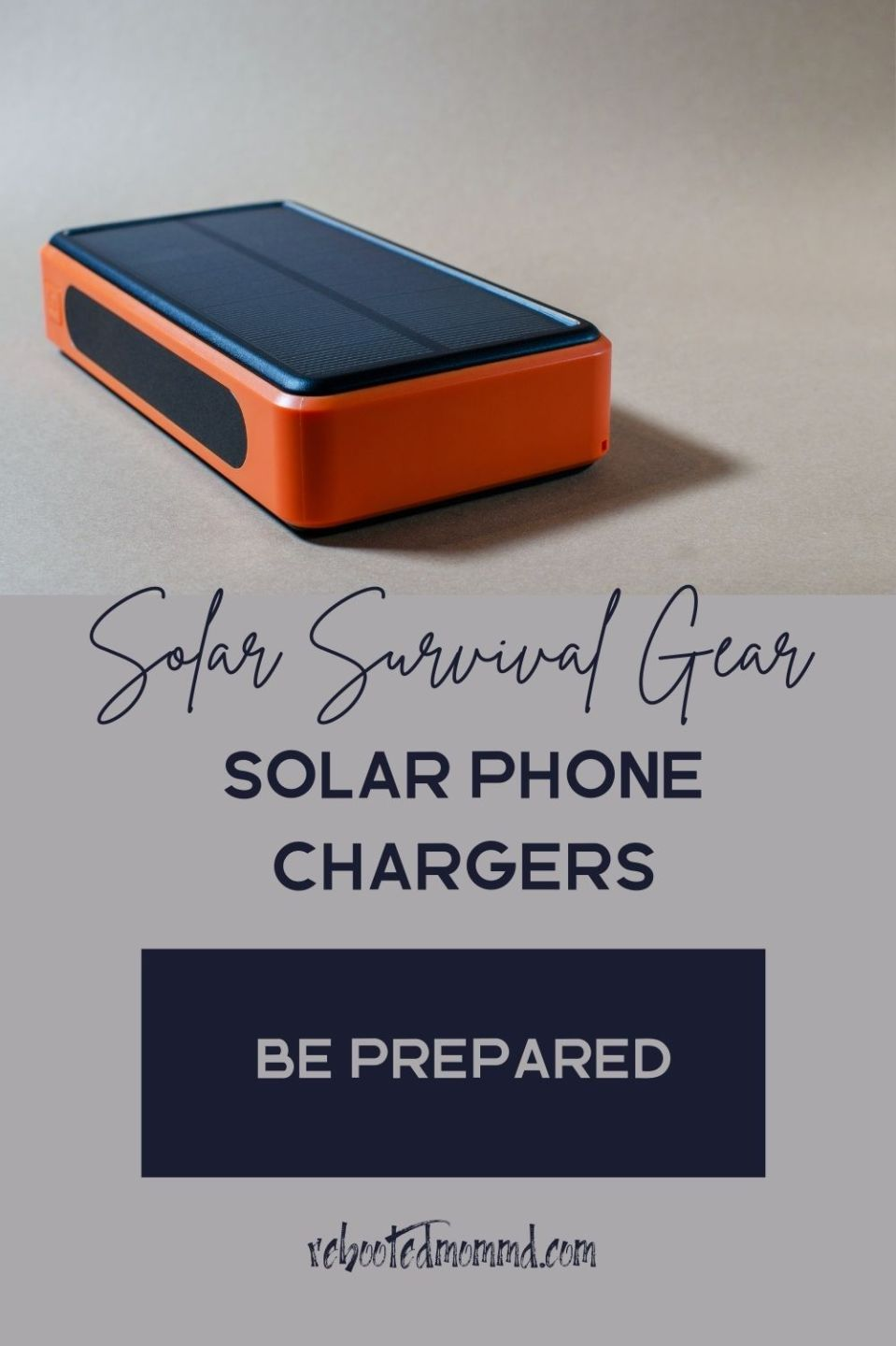 Solar Survival Gear Every House Should Have: Solar Phone Chargers