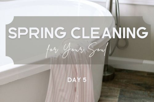 spring cleaning clean your chaos