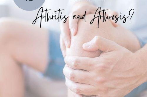 arthritis arthrosis