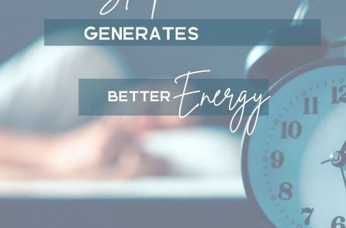 better sleep energy