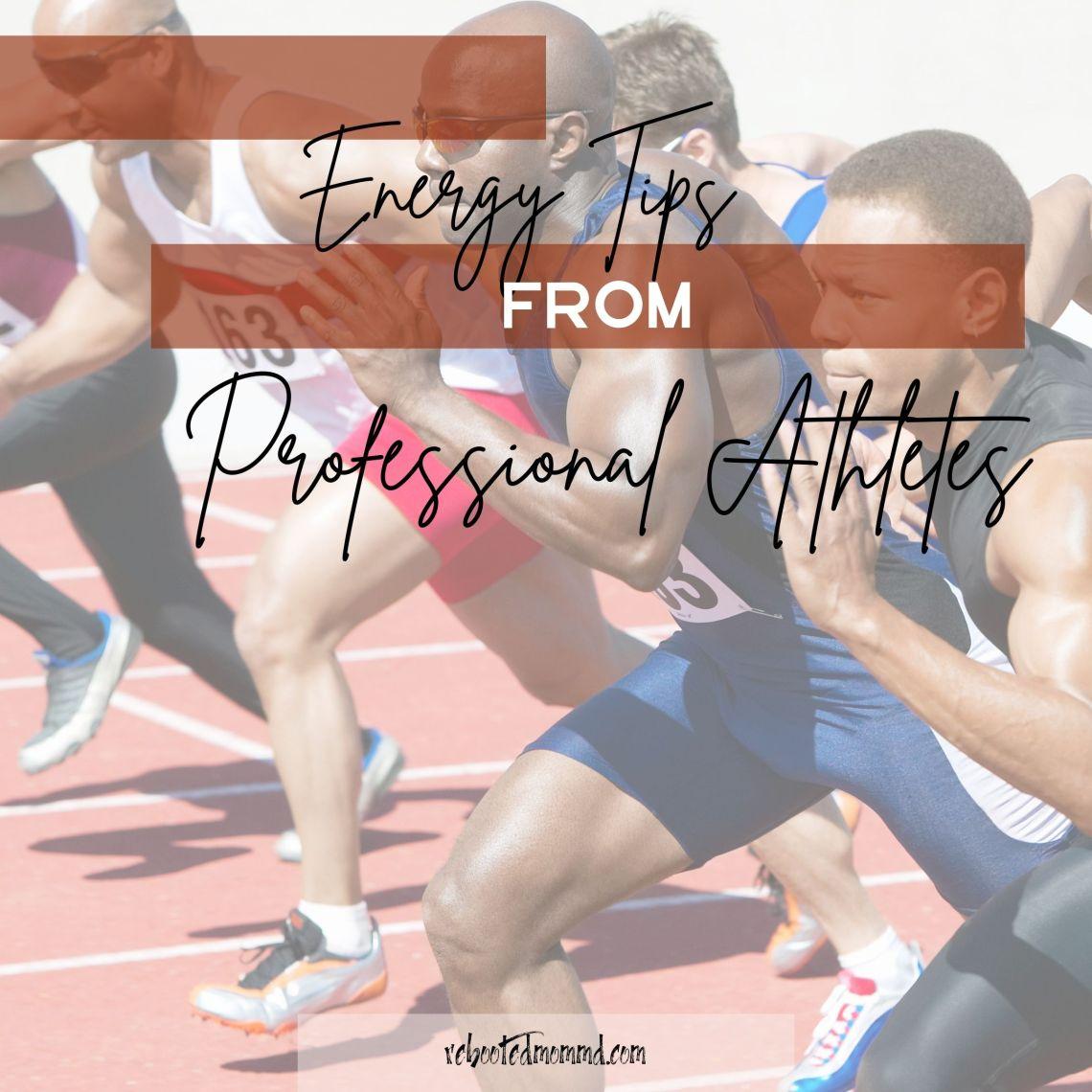 energy tips athletes