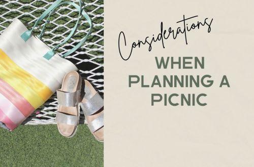 hosting a picnic