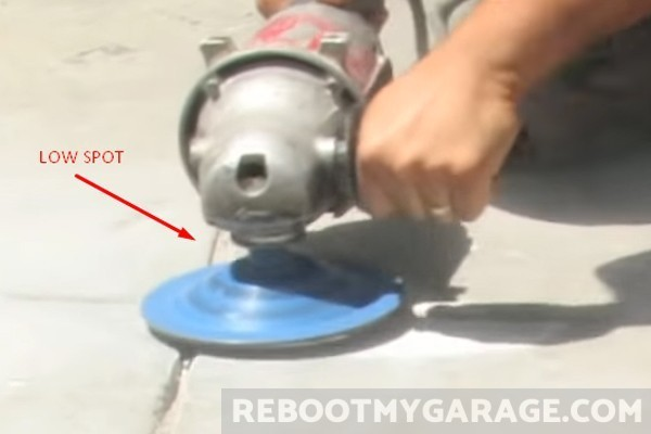 Angle Grinder Paint Removal Concrete