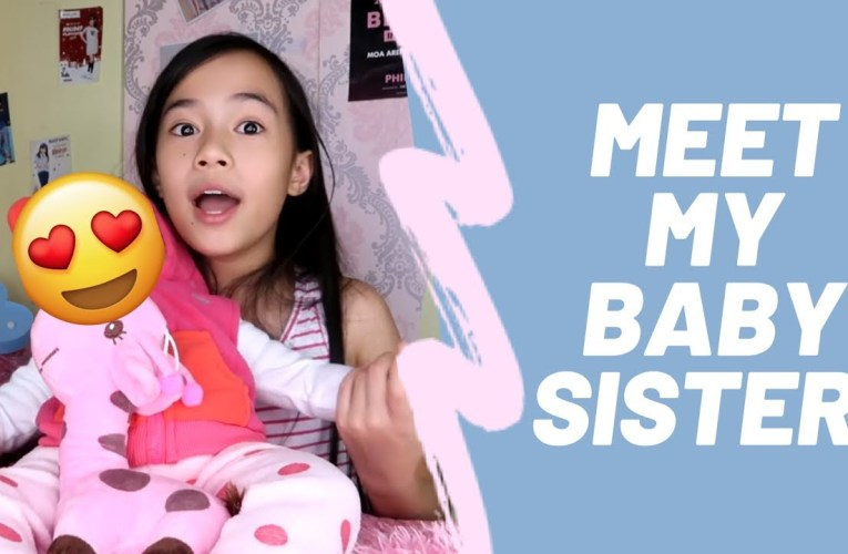 I HAVE A NEW BABY SISTER! PLEASE HELP ME NAME HER 😍 (REBORN DOLL UNBOXING)   YESHA C. 🦄