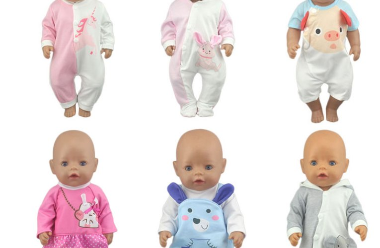 2020 New Fashion Doll Jump Suits Fit For 43cm Baby Doll 17 Inch Reborn Baby Doll Clothes – Best Promo #EE5F | Jarcatering