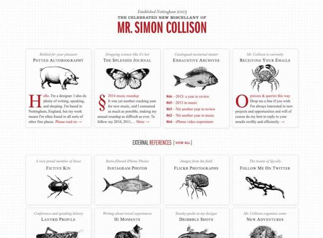 Online Personal brand Simon Collison