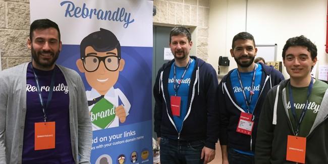 Rebrandly Team Codemotion