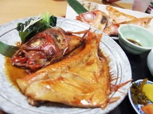 金目鯛定食