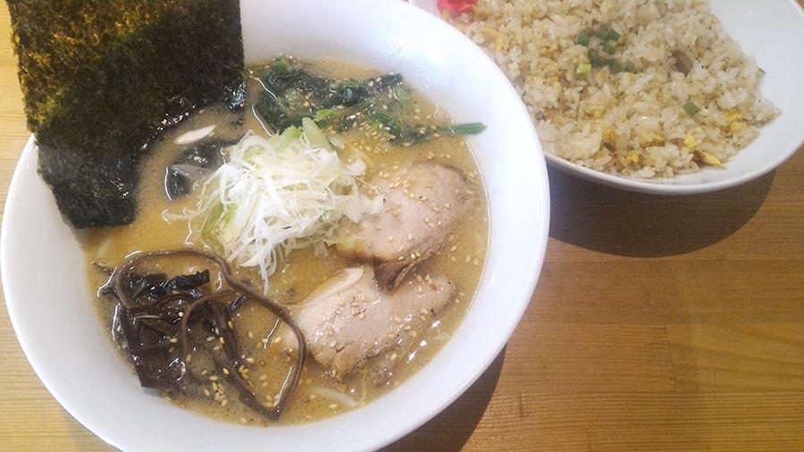 札幌 手稲 麵厨房かくれ家