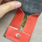 小さい財布の試作