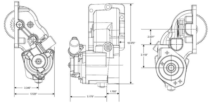 Ford Transmission PTO Chelsea Series 247, 248 and 249 for
