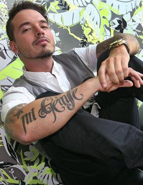 J Balvin Tiene Más De 30 Tatuajes En Su Cuerpo