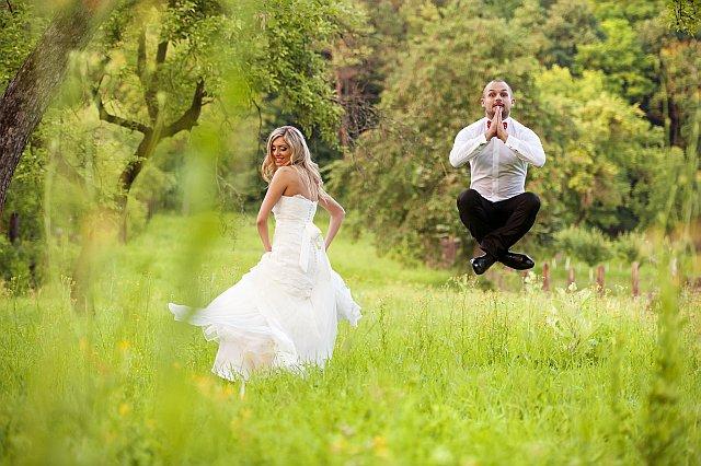 Die besten Ideen fr witzige Hochzeitsfotos So macht das