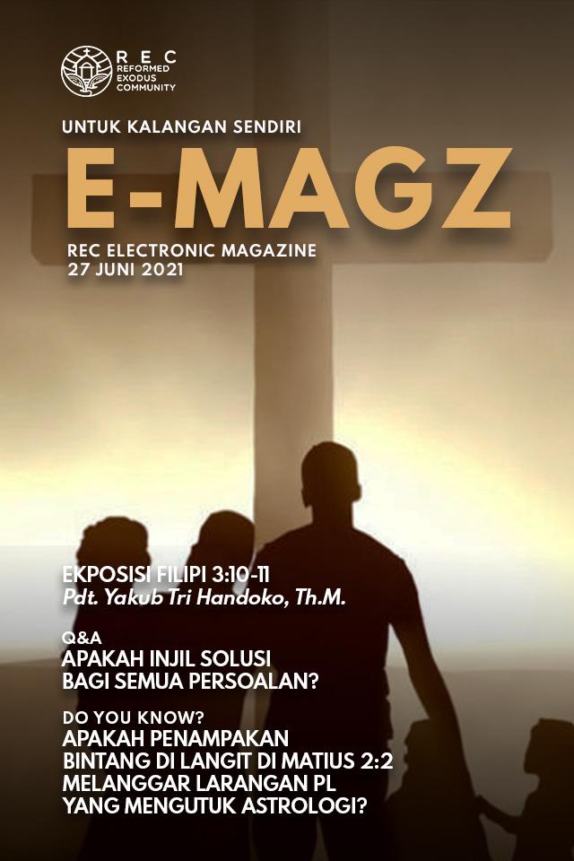 Artikel E-Magazine E-Magazine minggu ke-4 Juni 2021
