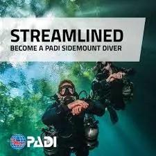 PADI Sidemount Diver
