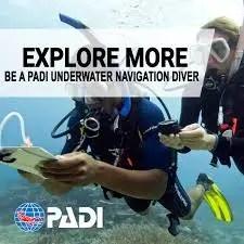 PADI Underwater Navigation Diver