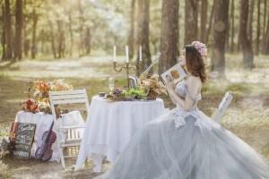 jovem se casando