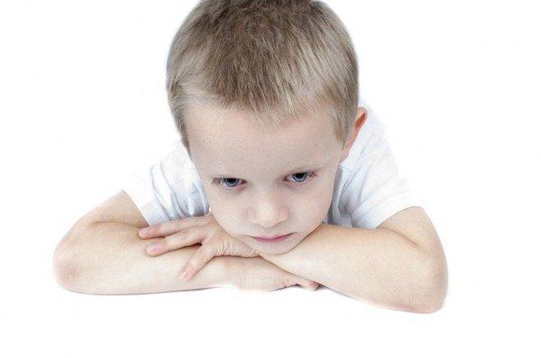 Nas manipulações toda a tristeza recai sobre a criança