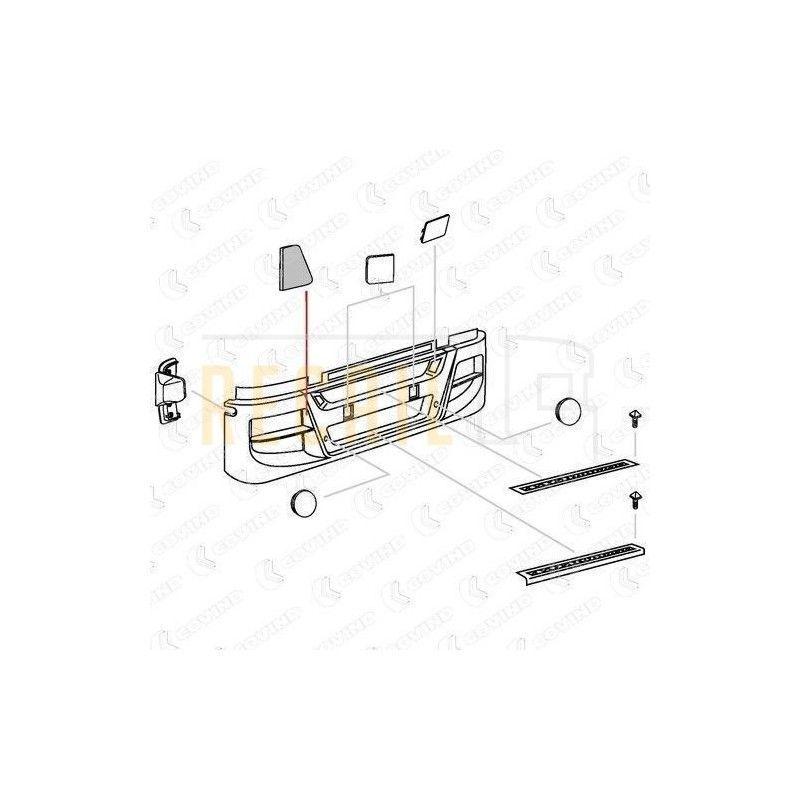 Tapa parachoques I/D IVECO